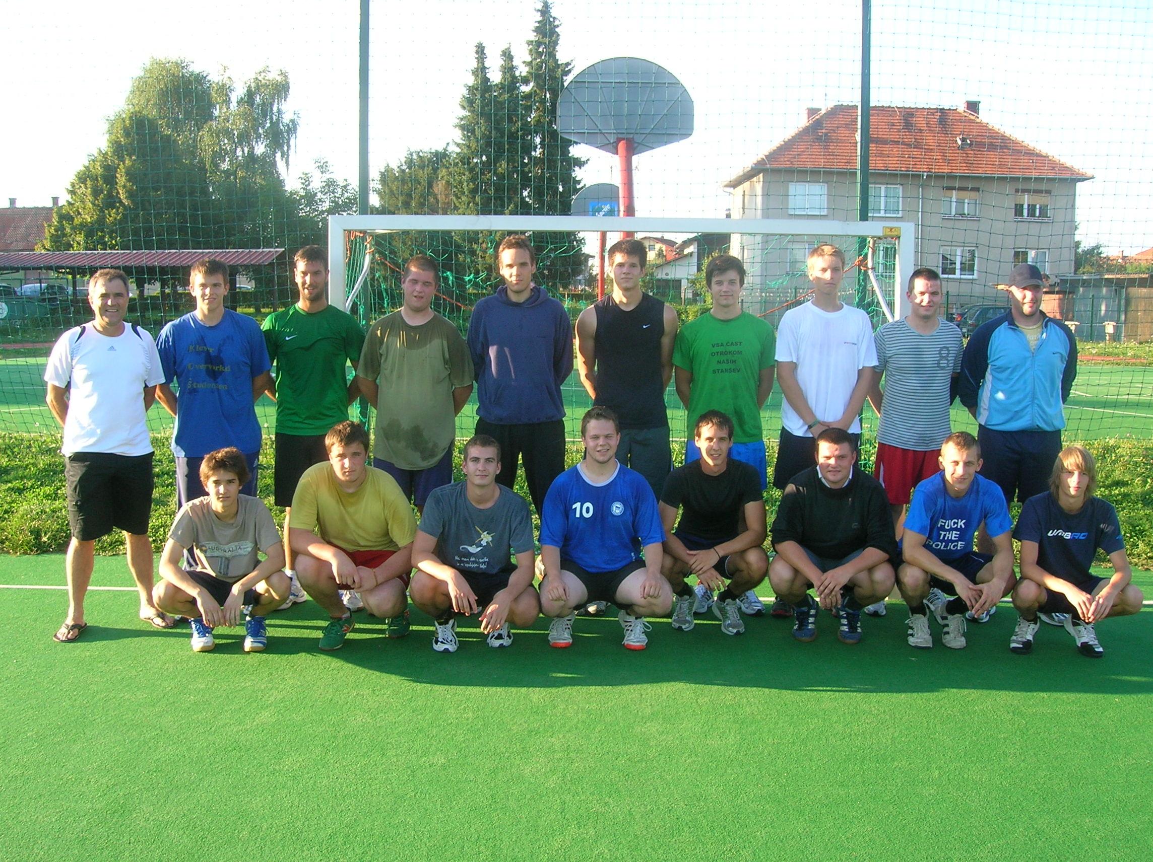 Začetek priprav 2011/2012
